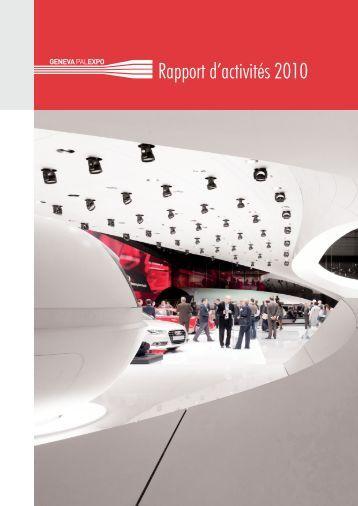 Rapport d'activités 2010 - Palexpo