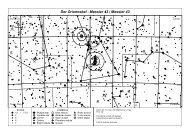 Aufsuchkarte Messier 42