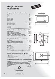 Design Kaminöfen OLDENBURG