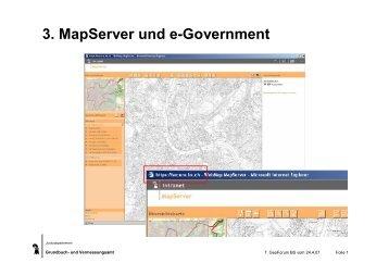 3. MapServer und e-Government