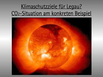Klimaschutzziele für Legau?