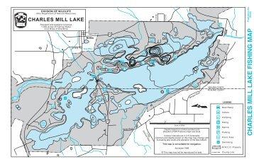 Seneca lake fishing map for Lake charles fishing