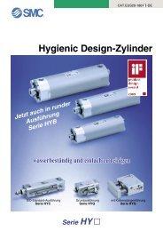 Hygienic Design-Zylinder Serie HY - SMC