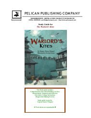 the Warlord's Kites study guide. - Pelican Publishing Company