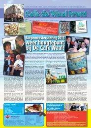 De zomereditie van Cafe de Waalkrant is uit!