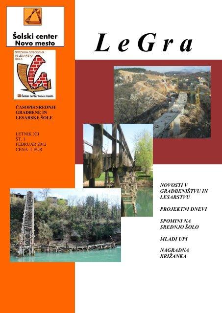 legra 1/2012 (pdf) - Åolski center Novo mesto