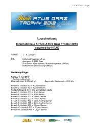 Ausschreibung Internationale Ströck ATUS Graz Trophy 2013 ...