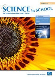 Download Issue 22 as PDF - Science in School