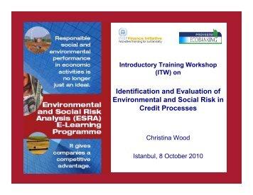 ChristinaWoodPresent.. - UNEP Finance Initiative