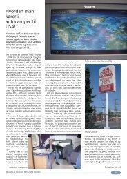 Hvordan man kører i autocamper til USA! - Dansk Autocamper ...