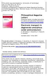 Electronic transport in degenerate amorphous oxide semiconductors