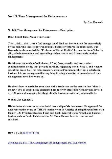 General Management Pdf