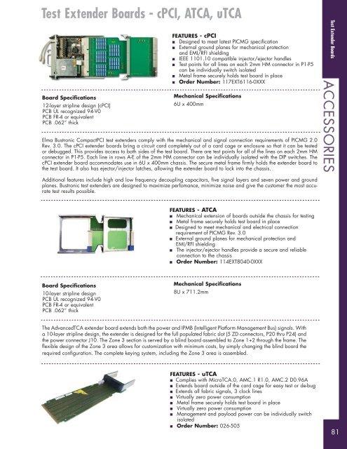 Test Extender Boards 80 T