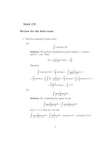uop math 116 final exam Math 116 – sec 17-23  evaluation: there will be five exams and a uniform final  exam  absolutely no early, late, or make-up quizzes will be.