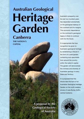 Australian Geological Canberra - Geological Society of Australia