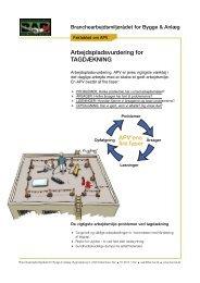 APV tagdækning v3.indd - BAR Bygge & Anlæg