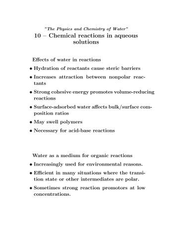 Reactions In Aqueous Solutions Worksheet : sciencewikis.org