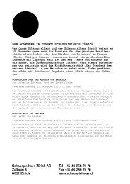 03 November_Communiqué - Junges Schauspielhaus Zürich