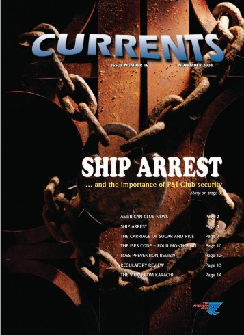 Issue Number 19 - November 2004 - The American Club