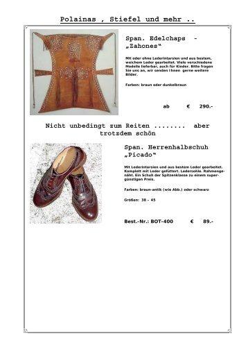 Taschen & mehr Satteltasche - El Mosquero