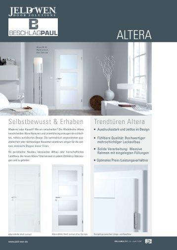 Trendtüren Altera - Beschlag Paul GmbH