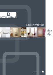 Moralt - Neuheiten 2011 - Beschlag Paul GmbH
