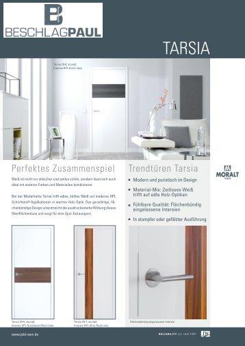 Moralt - Trendtüren Tarsia - Beschlag Paul GmbH