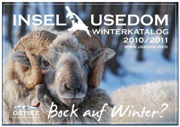 WINTERKATALOG 2010/2011 - Usedom
