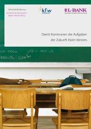 Infrastrukturprogramm, PDF (284 kB ) Broschüre - L-Bank