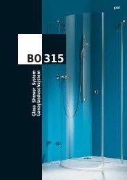System BO 315 - GLASMA SERVICE