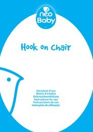 Hook on chair - Neo Baby