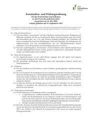 Fernstudien- und Prüfungsordnung - Freie Journalistenschule