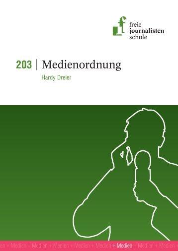 Leseprobe 203 - Freie Journalistenschule