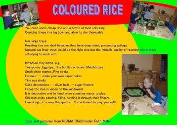 Fun with Rice