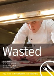 Hospitality – Wasted - Excellence Gateway