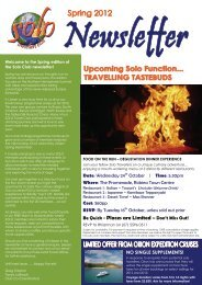 Date: Wednesday 24th October | Time: 5.30pm ... - Travel Masters