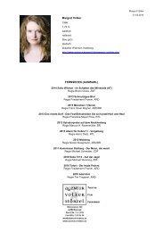 vita pdf - Agentur Störzel