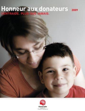 Honneur aux donateurs 2009 - Centraide - Québec et Chaudière ...