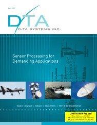 Alternatively, Click Here to view DTA-Systems' Catalogue - Unitronix