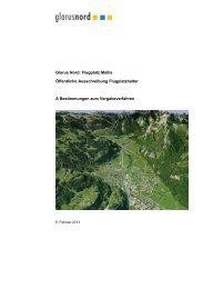 Bestimmungen zum Vergabeverfahren - Gemeinde Glarus Nord