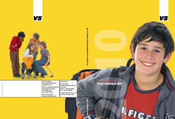 Basic catalogue-2010 - Nortek Educational Furniture & Equipment