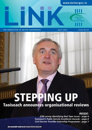 Link Magazine Issue 49 – April 2007 - Department of Public ...