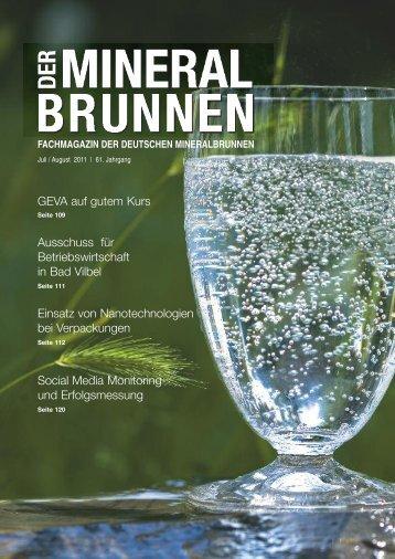 w w w .e rn a e h ru n g - Verband Deutscher Mineralbrunnen