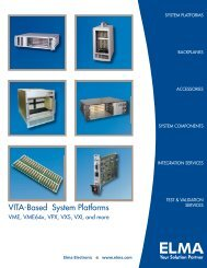 VITA System 12 Vertical Enclosure - Elma Electronic
