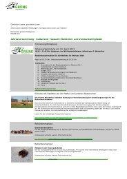 Jahresversammlung - Kulturland - Gesucht ... - Grüne Winterthur