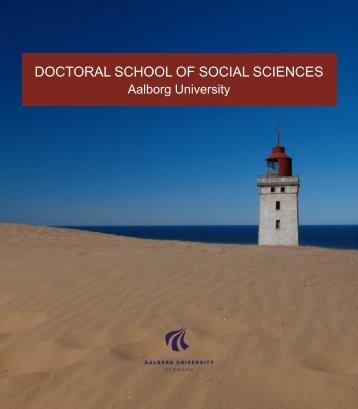 DOCTORAL SCHOOL OF SOCIAL SCIENCES