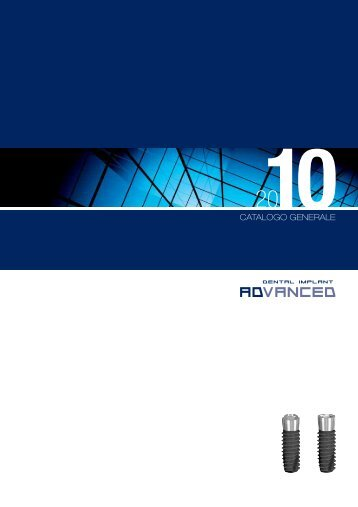 catalogo pdf - TFD Implantologia