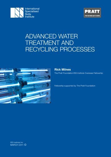 advanced water treatment and recycling processes - International ...