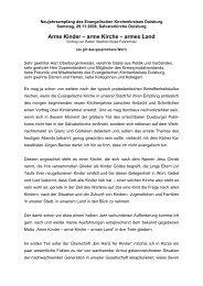 Vortrag Kiepe-Fahrenholz - Evangelischer Kirchenkreis Duisburg