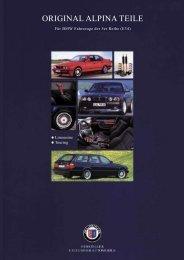 E34 Parts & Accessory - BMW Alpina